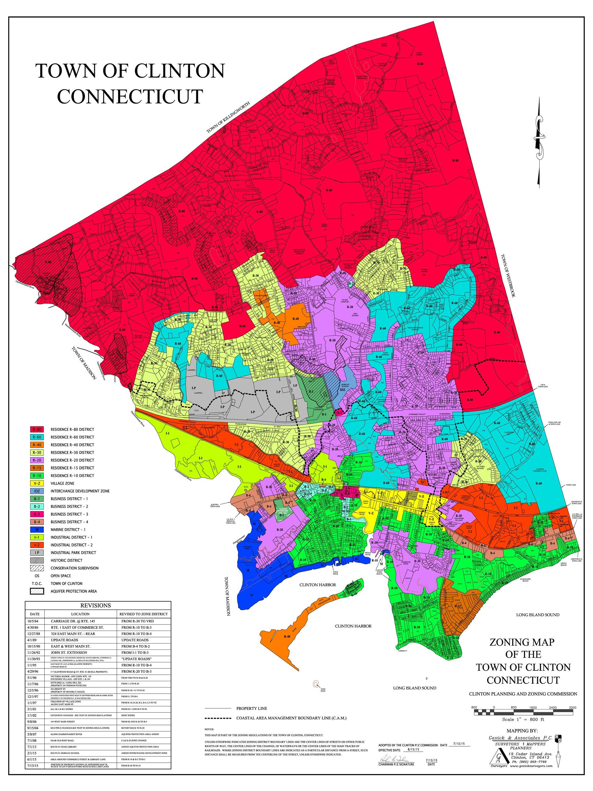 Zoning Map Updated Eff 8-15-15