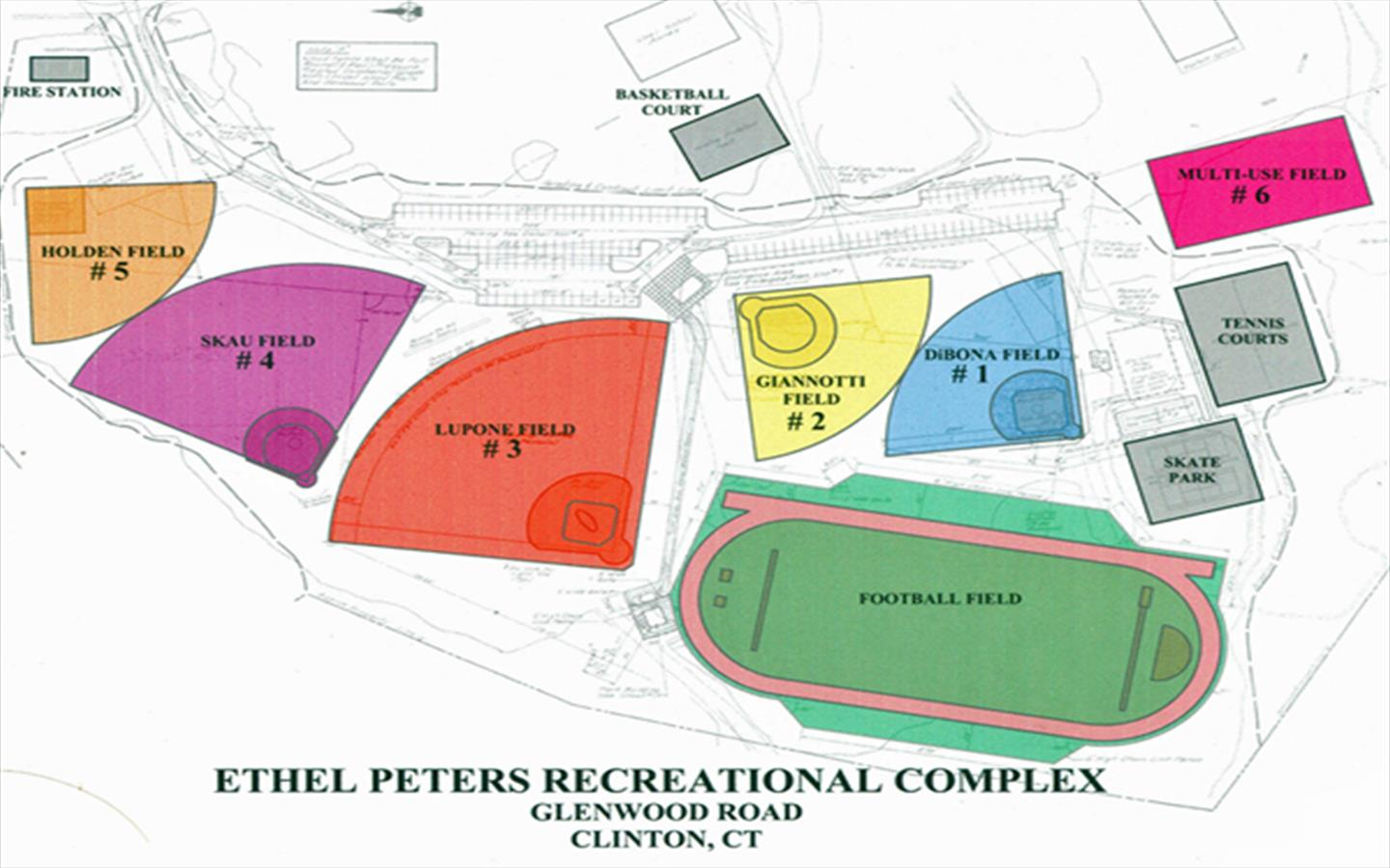 Ethel Peters Map Overview